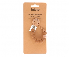 Attache-Sucette Silicone Nature Sand