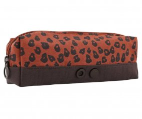 Estuche Rectangular Leopardo