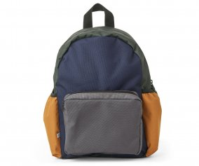 Mochila Wally Personalizable Navy Mix