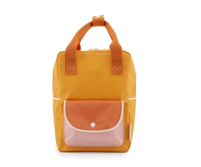 Mochila Pequeña Sticky Lemon Wanderer Candy Pink Orange Personalizable