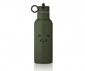 Botella Térmica Acero Neo Panda Hunter Green