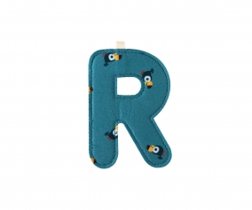 Fabric Letter R Lilliputiens Bird