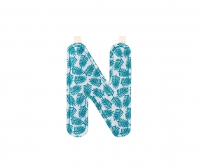 Fabric Letter N Lilliputiens