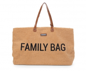 Borsone Family Bag Teddy Beige