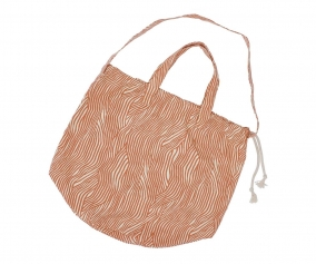 Terracotta Wave Bag