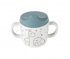 2-Handle Spout Cup Dreamy Dots Blue