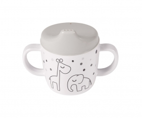 2-Handle Spout Cup Dreamy Dots Grey