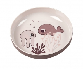 Mini Plate Sea Friends Powder