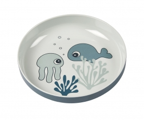 Mini Plate Sea Friends Blue