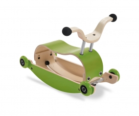 Dondolo Primi passi Mini-Flip Total Green