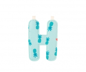 Fabric Letter H Lilliputiens