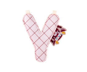 Fabric Letter Y Lilliputiens