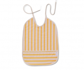 Babero Lai Stripe Peach/Sandy/Yellow Mellow