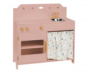 Play Kitchen Dusty Rose