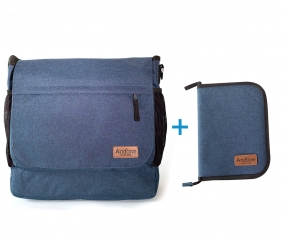 PROMO Borsa Andone Dynamic Walks + Porta Documenti Denim