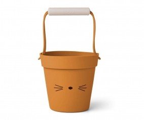 Cubo de Playa Linda Cat Mustard Mix