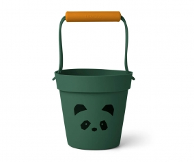 Cubo de Playa Linda Cat Panda Garden Green