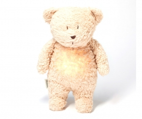 Light-Sound Organic Teddy Bear Moonie Sand