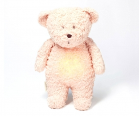 Light-Sound Organic Teddy Bear Moonie Rose