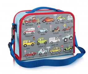 Personalised Insulated Lunch Bag Cars