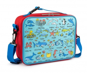 Personalised Insulated Lunch Bag Ocean