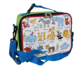 Personalised Insulated Lunch Bag Jungle