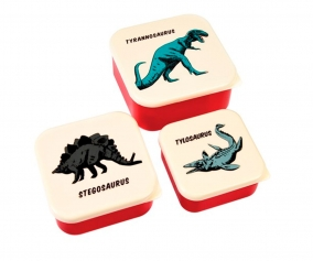 3 Snack Boxes Prehistoric Land