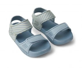 Sandalias Blumer Stripe Sea Blue/Sandy