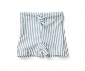 Bañador Short Otto Stripe Sea Blue/White