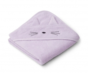 Capa de Baño Bebé Albert Cat Light Lavender