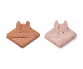 2 Capas de Baño Bebé Albert Rabbit Tuscany Rose Mix