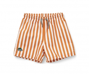 Bañador Short Duke Stripe Mustard/White