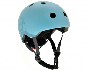 Casque Scoot and Ride Medium Steel