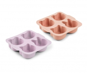 2 Moldes para Bizcocho Mariam Light Lavender Rose Mix