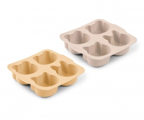 2 Moldes para Bizcocho Mariam Wheat Yellow Sandy Mix