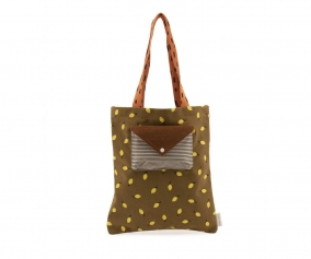 Tote Bag Sprinkles Corduroy Lemon Dijon Gingerbread Carrot Orange