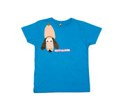 Tutete Blue Dog T-Shirt