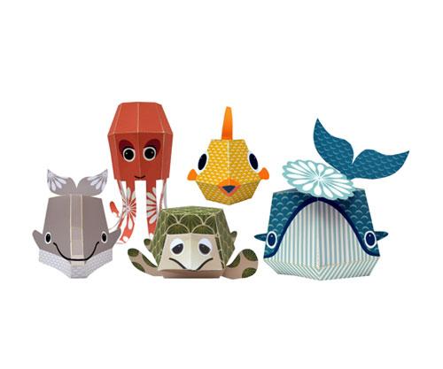 Origami Mibo Animali Marini Nº9