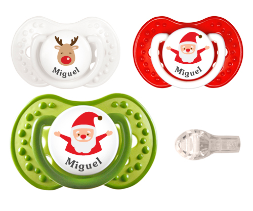 LOVI Personalisable 2 Santa 1 Rudolph Soothers