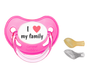 1 Canpol I Heart My Family Fucsia