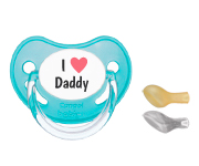 1 Canpol I Heart Daddy Turquoise