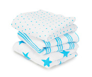 Pack 3 Gasitas Musy Aden+Anais Fluro-Blue