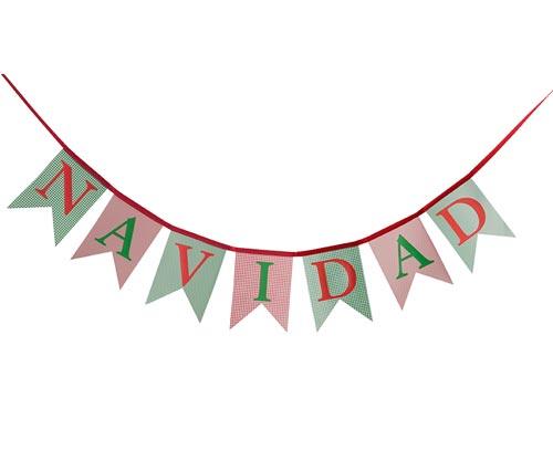 Guirnalda De Navidad Personalizada - Guirnalda-navidad