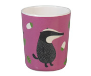 Vaso Melamina Mr Badger