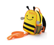 Zoo Bee Backpack with Harness