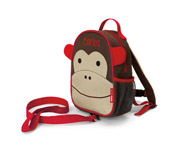 Zoo Monkey Backpack with Harness