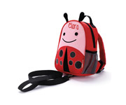 Zoo Ladybug Backpack with Harness