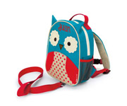 Zoo Owl Backpack with Harness