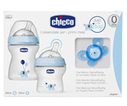 Set Natural Feeling Chicco Azul