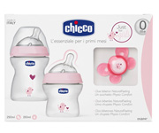 Set Natural Feeling Chicco Rosa